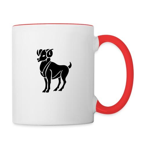 ARIES Zodiac Sign Symbol  Coffee Mug - Contrast Coffee Mug