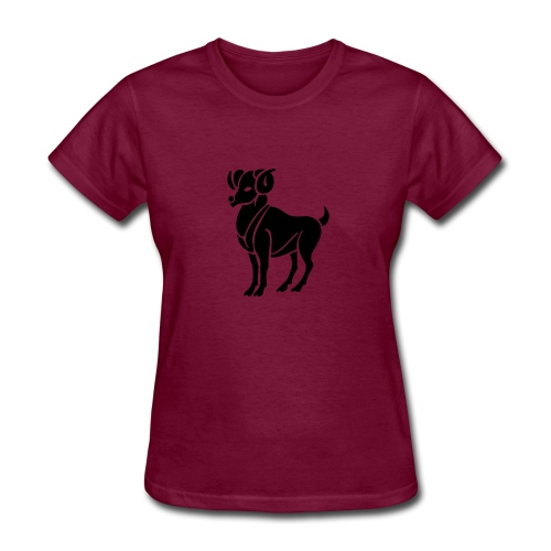 ARIES Zodiac Sign Symbol  Women's t-shirt Birthday shirts - Women's T-Shirt