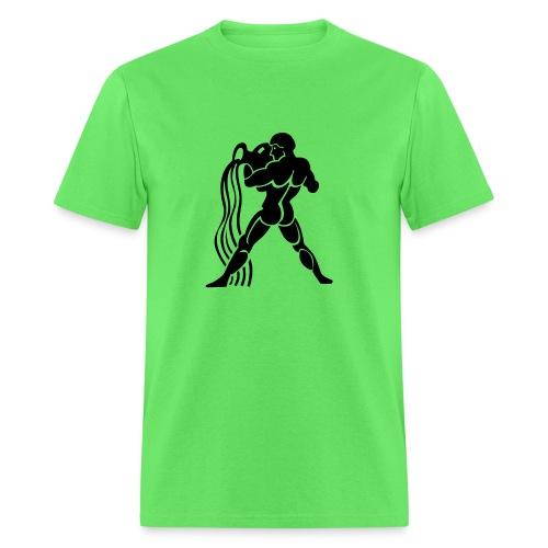 AQUARIUS Zodiac Sign Symbol Men's t-shirt Birthday shirts - Men's T-Shirt