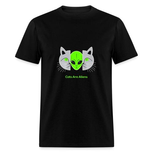 Cats Are Aliens - Men's T-Shirt