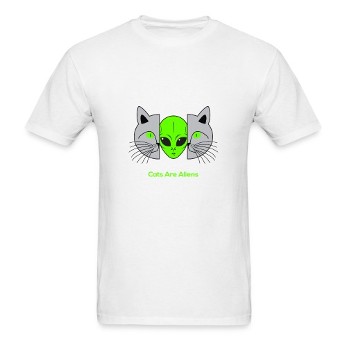 Cats Are Aliens - Men's T-Shirt