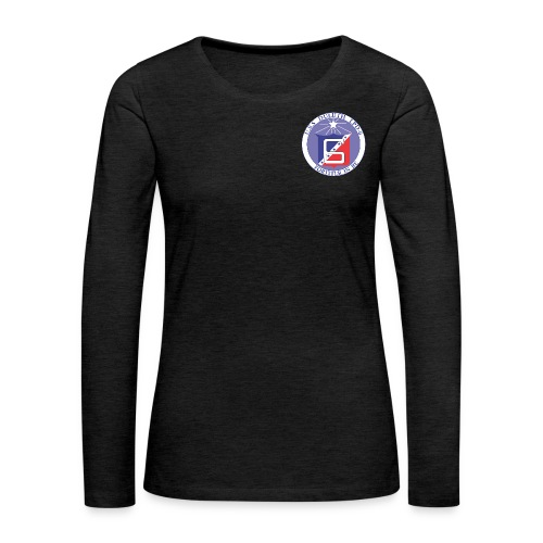 USS DULUTH LPD-6 WOMENS CREST LONG SLEEVE - Women's Premium Long Sleeve T-Shirt