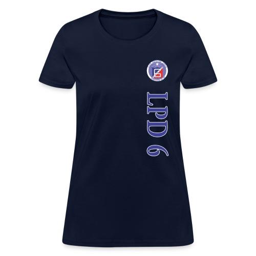 USS DULUTH LPD-6 WOMENS VERT STRIPE TEE - Women's T-Shirt