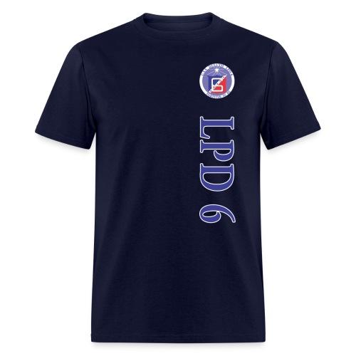 USS DULUTH LPD-6 VERT STRIPE TEE - Men's T-Shirt