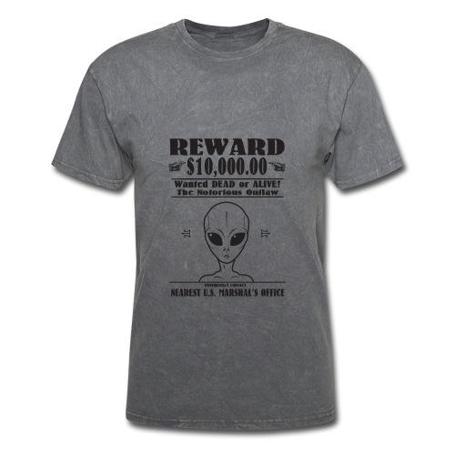 Wanted Alien - Men's T-Shirt