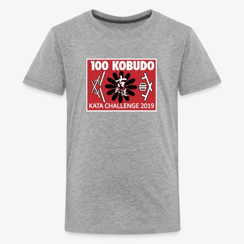 100KobudoKata2019kidstee01 - Kids' Premium T-Shirt