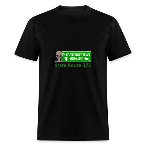 Extraterrestrial Highway - Men's T-Shirt