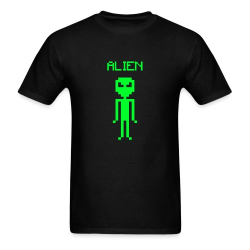 ALIEN PIXEL - Men's T-Shirt