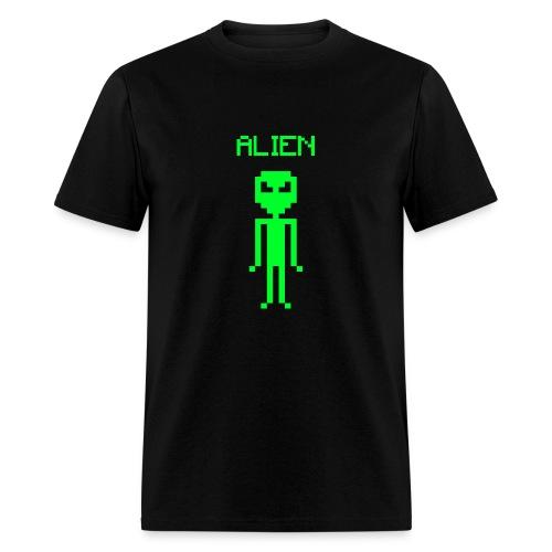 ALIEN PIXEL - Men's T-Shirt
