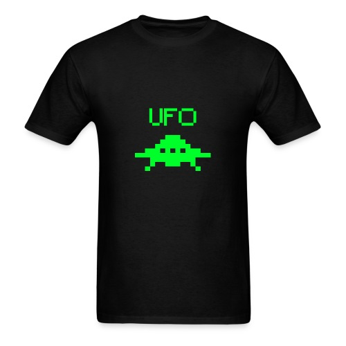 UFO Pixel - Men's T-Shirt