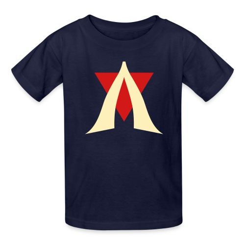 V Logo Jimmy - Kids' T-Shirt