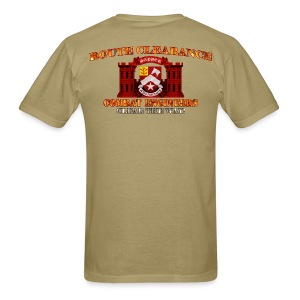 9th En Batt - RC Sapper Back Only - Men's T-Shirt