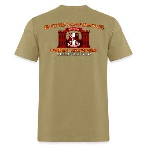 44th En Batt - RC Sapper Back Only - Men's T-Shirt