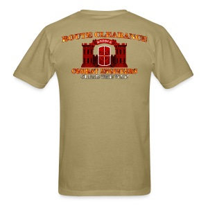 420th En Bde - RC Sapper Back Only - Men's T-Shirt
