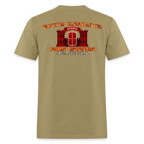 420th En Bde - RC Sapper Back Only - Men's T-Shirt