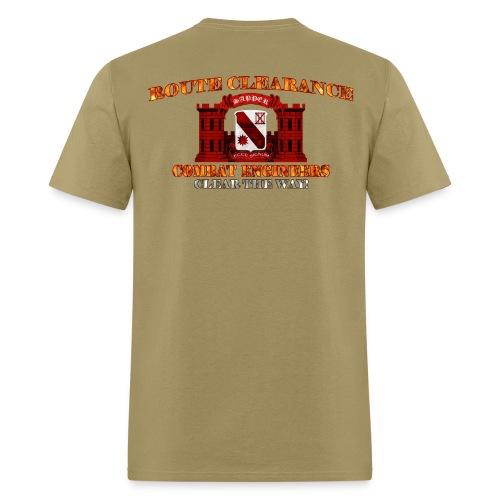 96th En Bn - RC Sapper Back Only - Men's T-Shirt