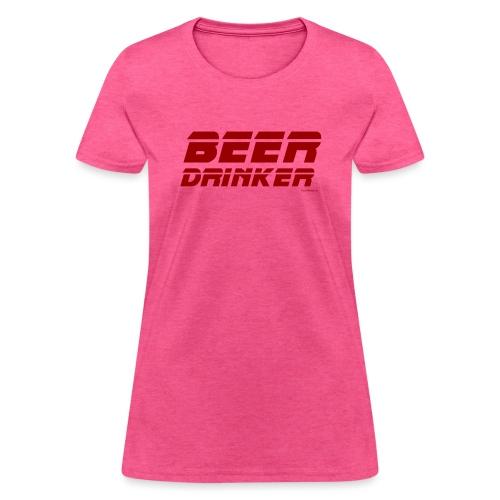 Beer Drinker Women's T-Shirt - Women's T-Shirt