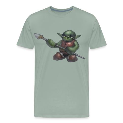 Ferocious Orc Warrior Plushie Men's Premium T-Shirt - Men's Premium T-Shirt
