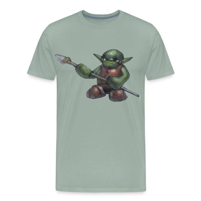 Ferocious Orc Warrior Plushie Men's Premium T-Shirt