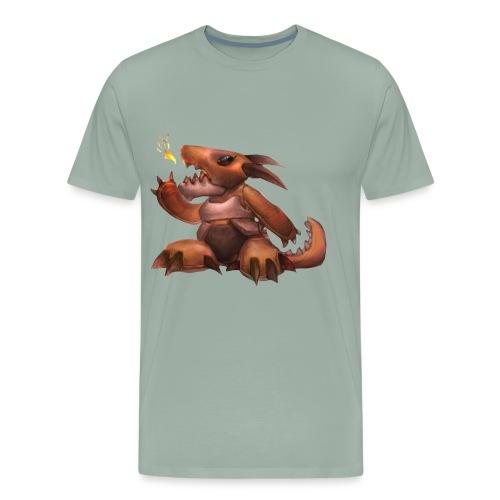 Dragonborn Plushie Men's Premium T-Shirt - Men's Premium T-Shirt