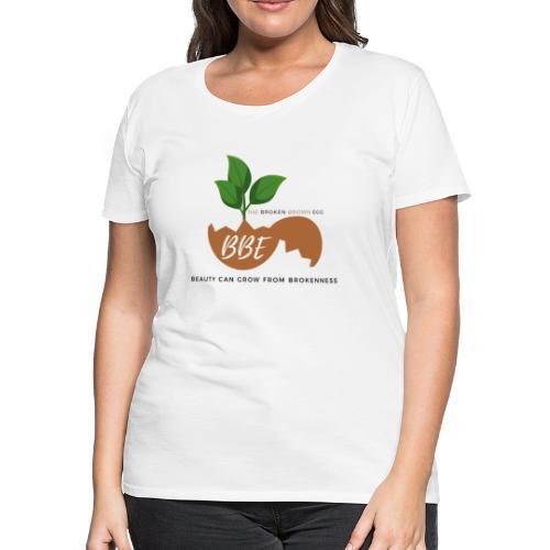 The Broken Brown Egg Tee - Women's Premium T-Shirt
