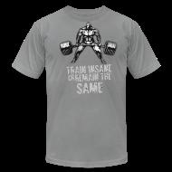 T-Shirts ~ Men's T-Shirt by American Apparel ~ Train Insane Tee