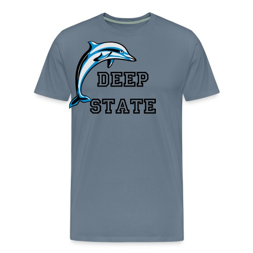 Deep State Dolphins! - Men's Premium T-Shirt