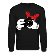 Long Sleeve Shirts ~ Crewneck Sweatshirt ~ Bow DSLR