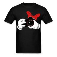 T-Shirts ~ Men's T-Shirt ~ Bow DSLR
