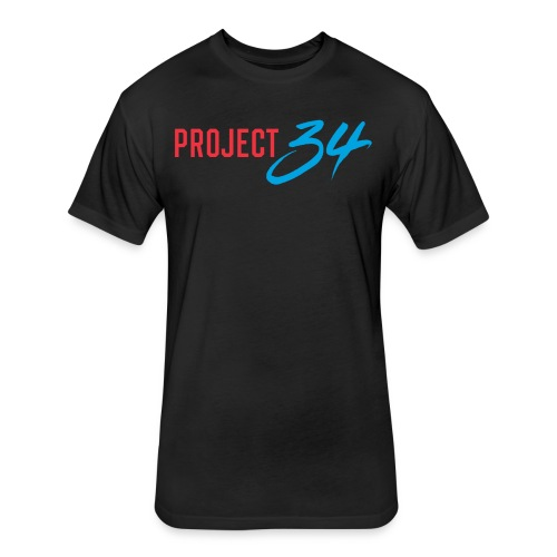 Project 34 - Miami - Fitted Cotton/Poly T-Shirt by Next Level