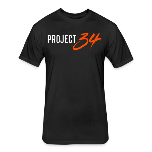 Project 34 - Baltimore - Fitted Cotton/Poly T-Shirt by Next Level