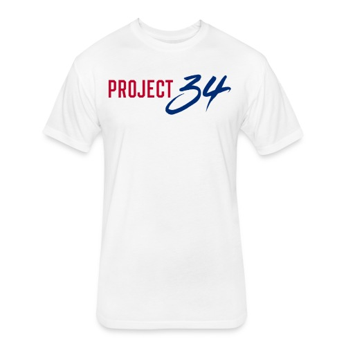 Project 34 - Arlington - Fitted Cotton/Poly T-Shirt by Next Level