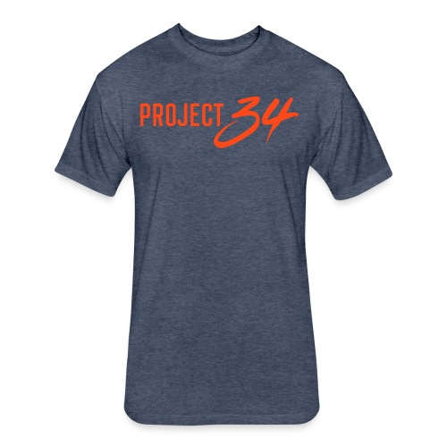 Project 34 - Detroit - Fitted Cotton/Poly T-Shirt by Next Level