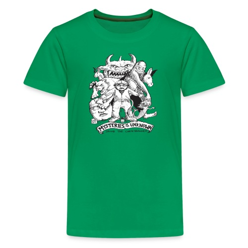 Kid's Mysteries of the Unknown Shirt - Kids' Premium T-Shirt