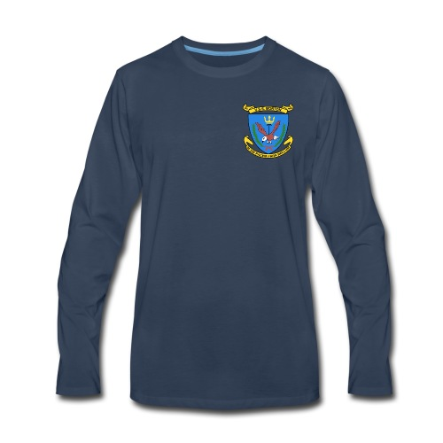 USS MORTON DD-948 CREST LONG SLEEVE - Men's Premium Long Sleeve T-Shirt
