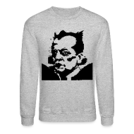 Long Sleeve Shirts ~ Men's Crewneck Sweatshirt ~ nomikinski