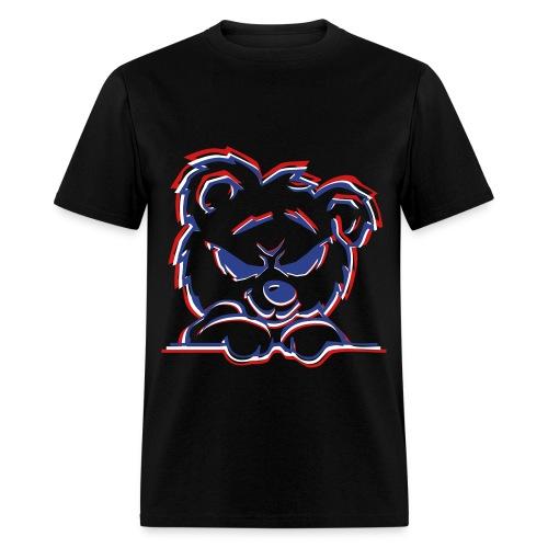 Evil Teddy Bear Men's T-Shirt - Men's T-Shirt