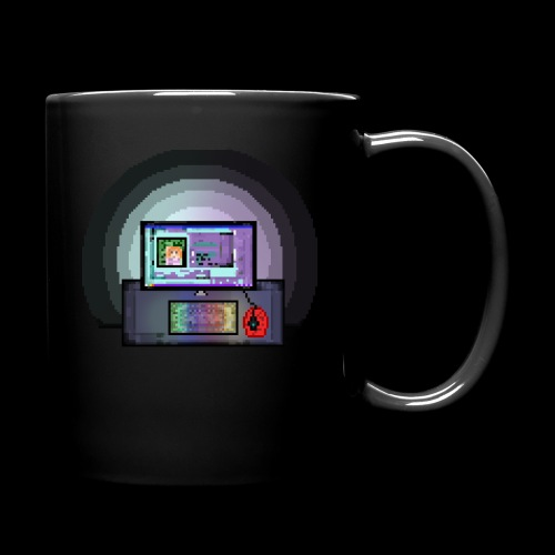 Pixel PC Shirt - Full Color Mug