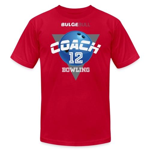 BULGEBULL BOWLING - Men's Fine Jersey T-Shirt