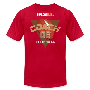 BULGEBULL FOOTBALL - Men's T-Shirt by American Apparel