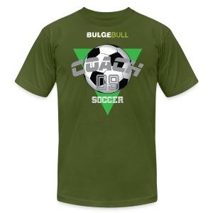 BULGEBULL SOCCER - Men's Fine Jersey T-Shirt