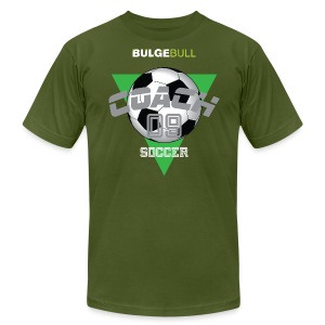 BULGEBULL SOCCER - Men's T-Shirt by American Apparel