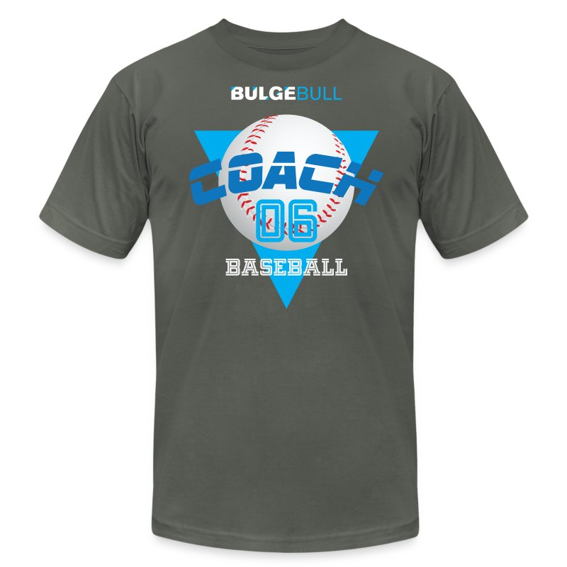 BULGEBULL BASEBALL - Men's T-Shirt by American Apparel