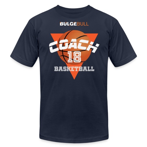 BULGEBULL BASKETBALL - Men's Fine Jersey T-Shirt