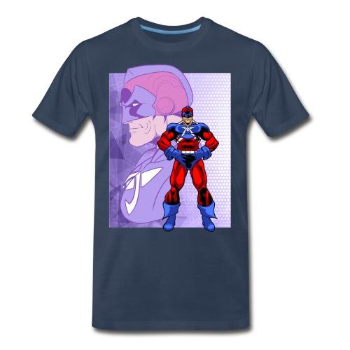 Heroic 9.0: American Man - Men's Premium T-Shirt