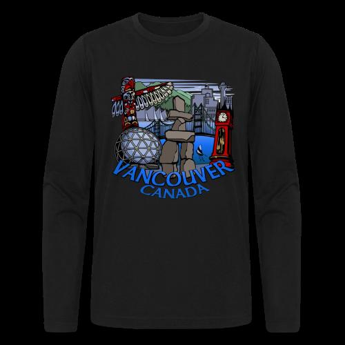 Vancouver T-shirt Vancouver Canada Souvenir Shirt - Men's Long Sleeve T-Shirt by Next Level