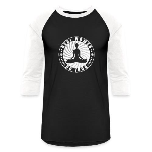 Real Women Do Yoga Unisex Long Sleeve Baseball Tee Shirt - Baseball T-Shirt