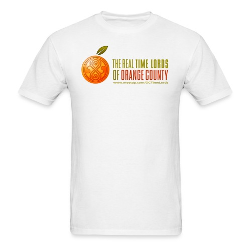 The Real Time Lords of Orange County Logo - Men's T-Shirt
