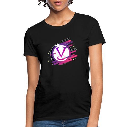 Cartoon Night Woman's Tshirt - Women's T-Shirt