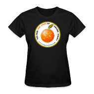 T-Shirts ~ Women's T-Shirt ~ The Real Time Lords of Orange County Circle Logo